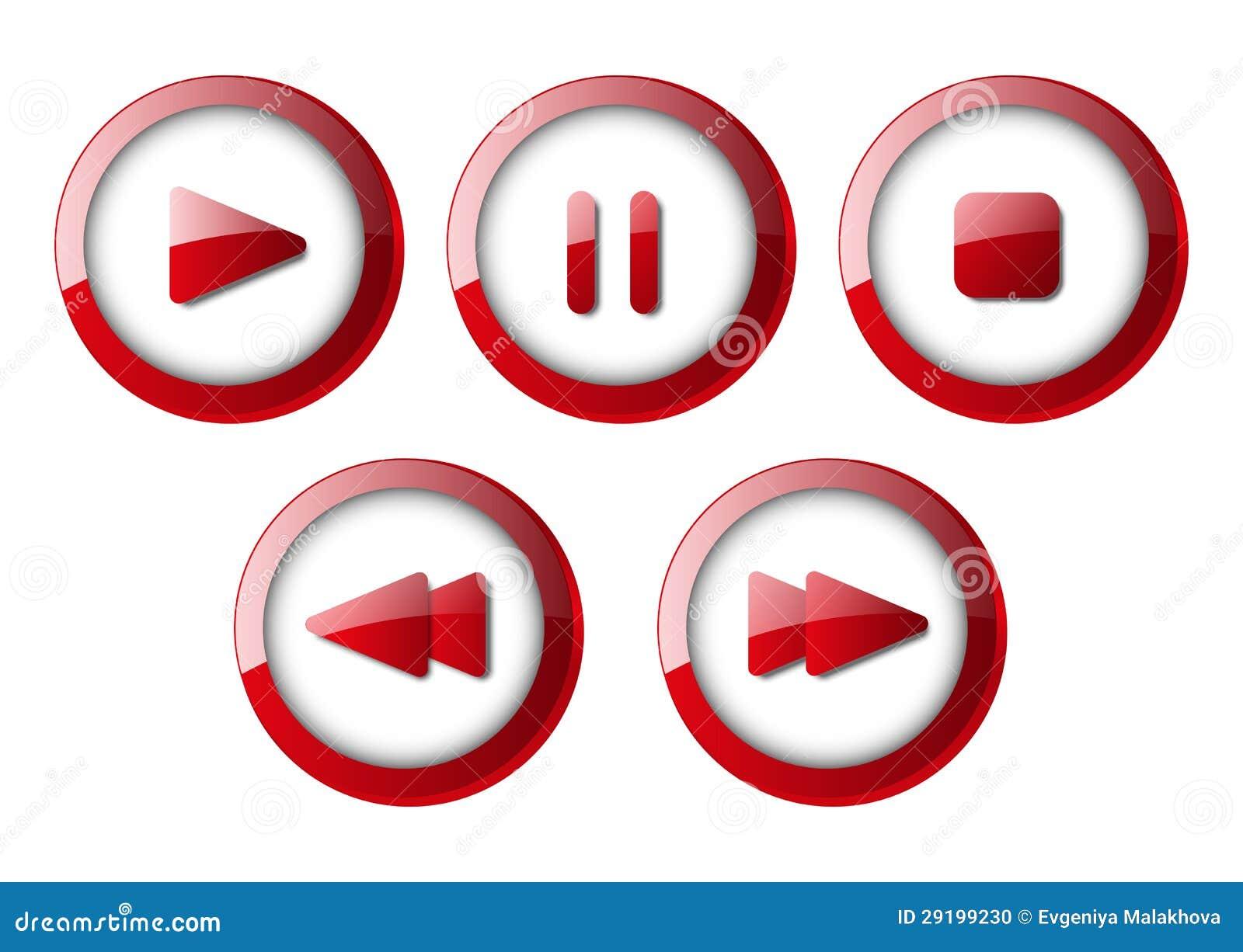 Комплект кнопок