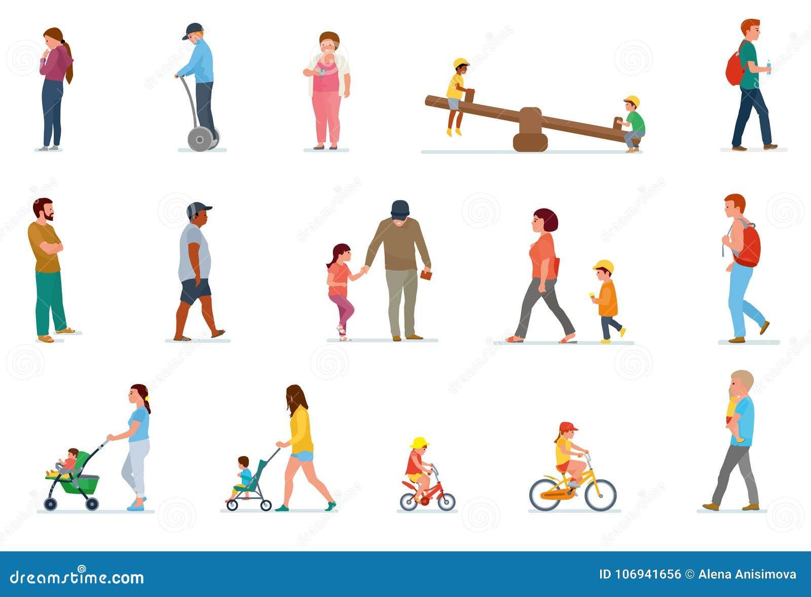 Комплект отдыха семьи Обед дома, пикник в природе, прогулке в внешнем, кататься на коньках ролика