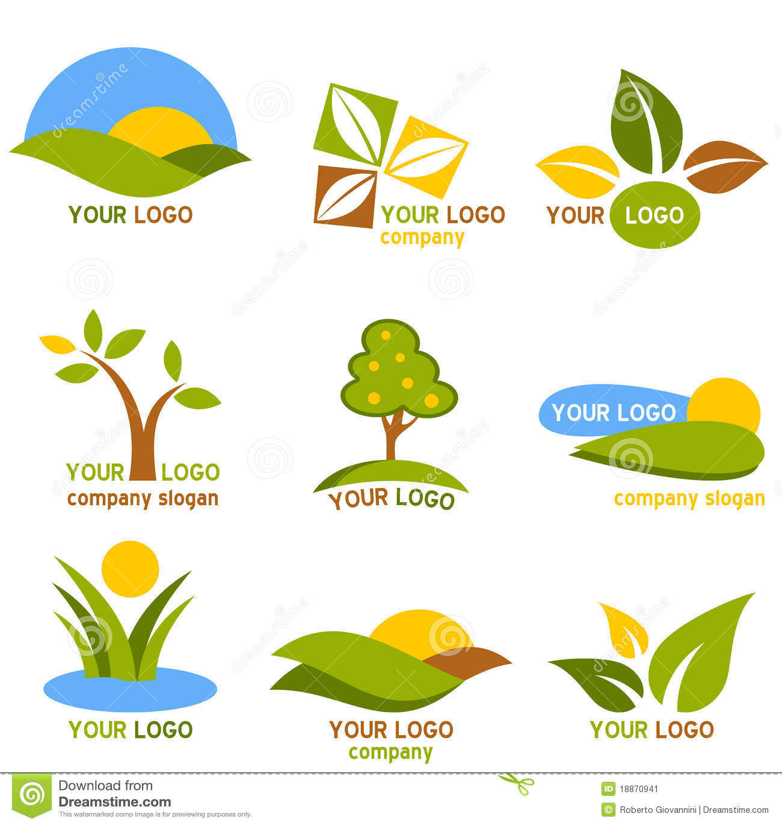 комплект природы логосов