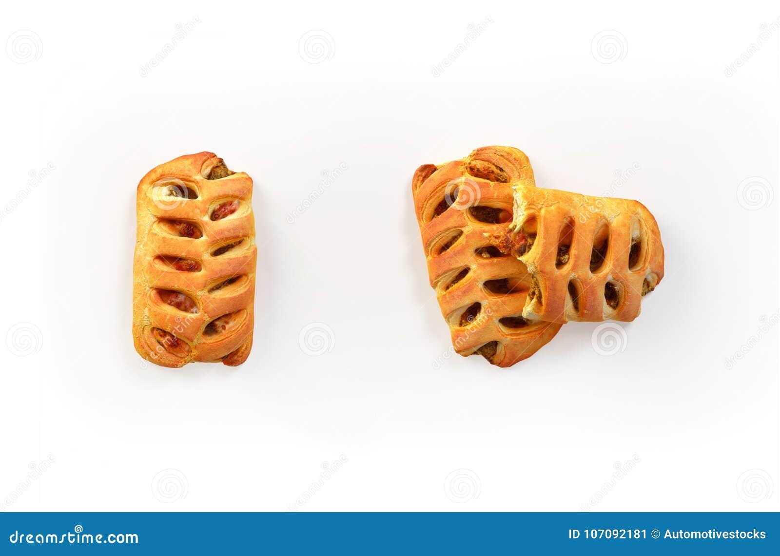 Комплект свеже испеченных пирогов