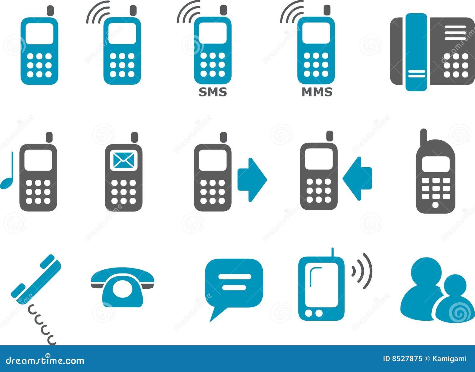 комплект телефона иконы