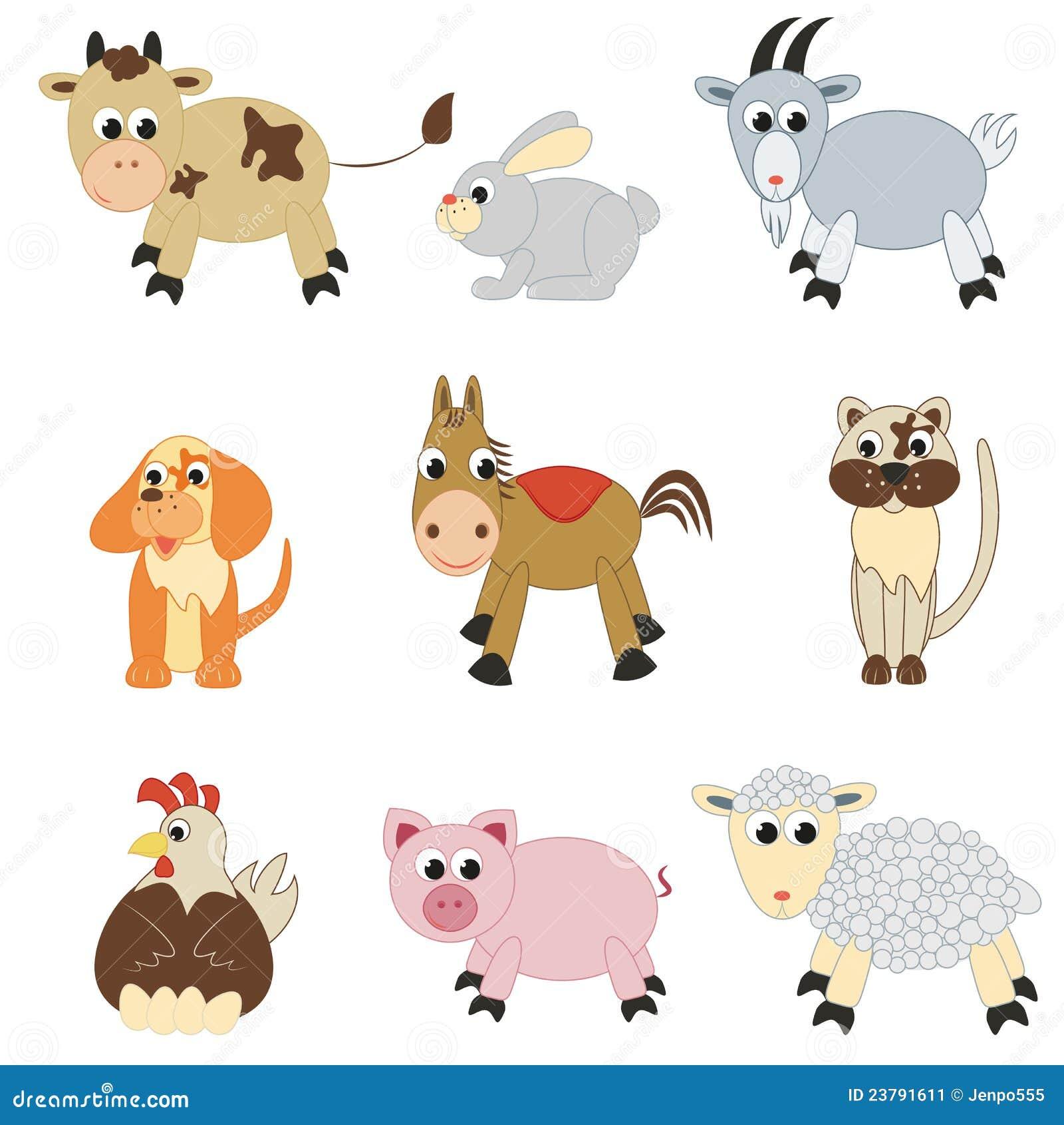 комплект фермы животных