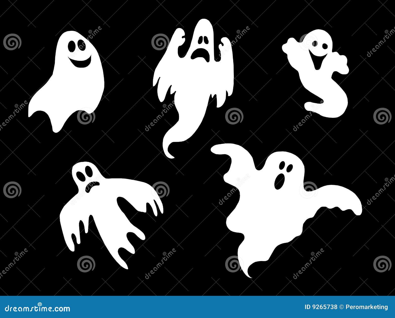 комплект halloween привидений