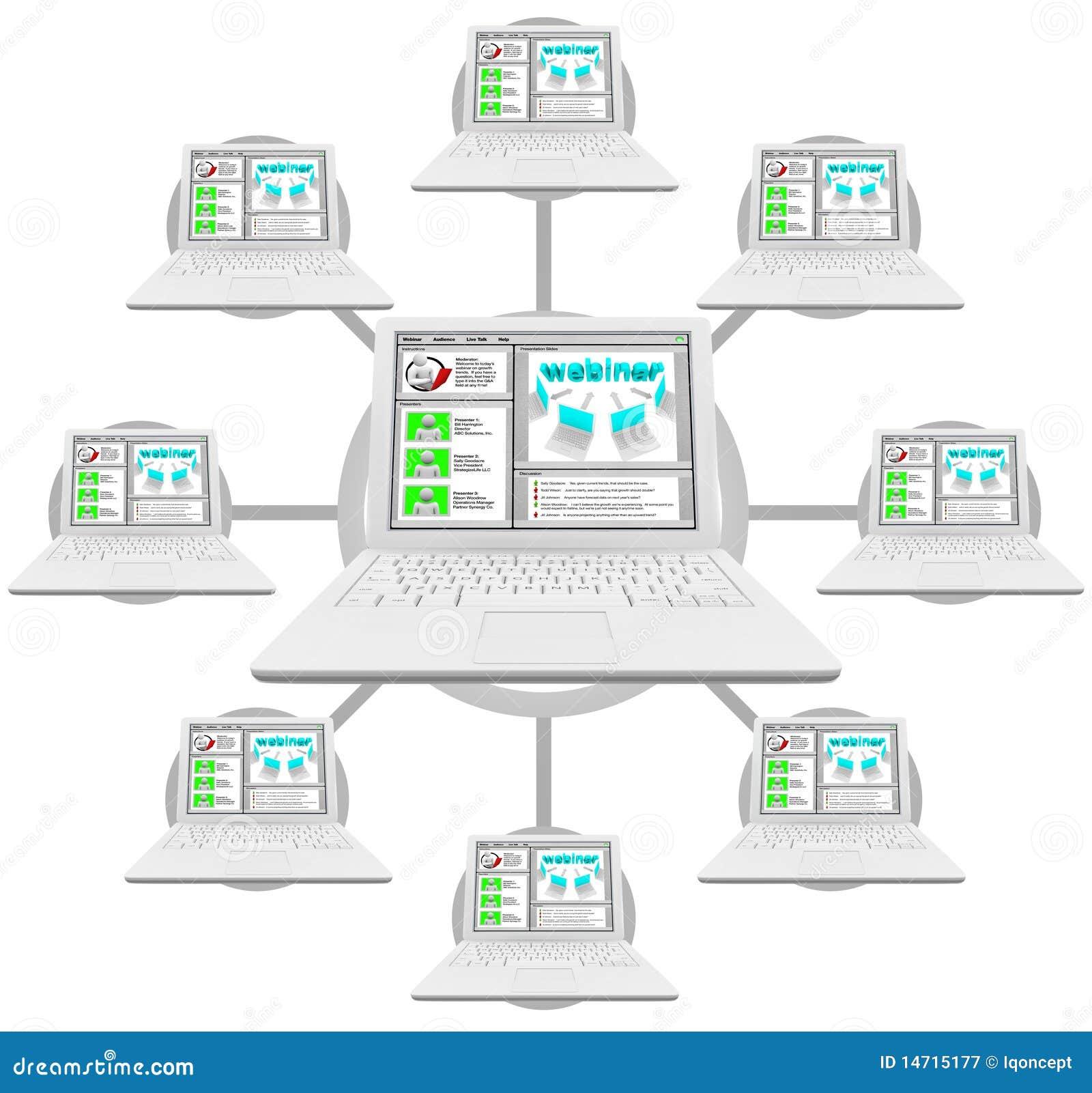 компьютеры соединили сеть webinar