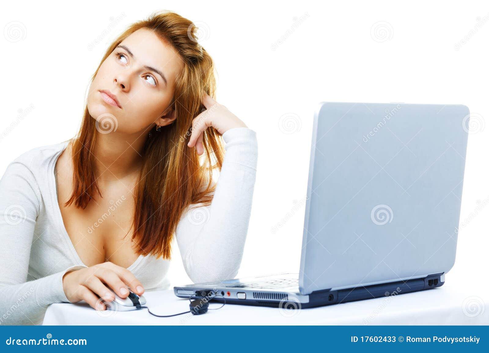 компьютер дела расстроил ее повелительницу