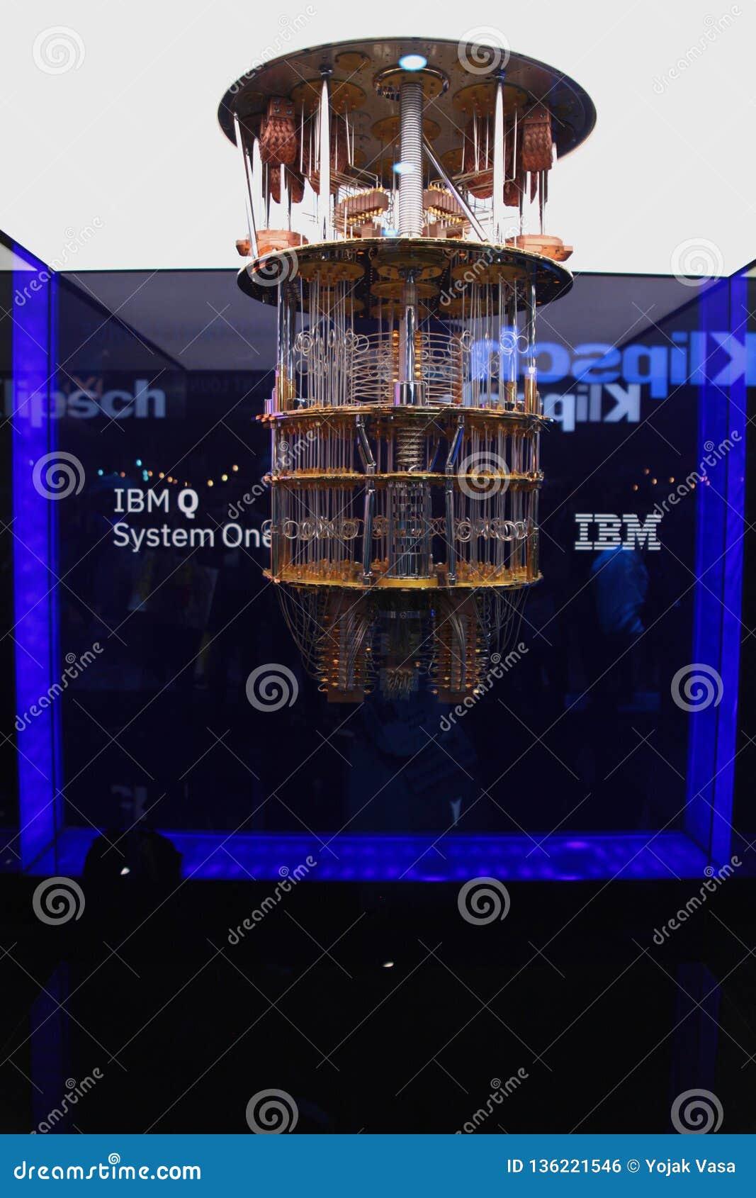 Компьютер IBM Кванта на CES 2019
