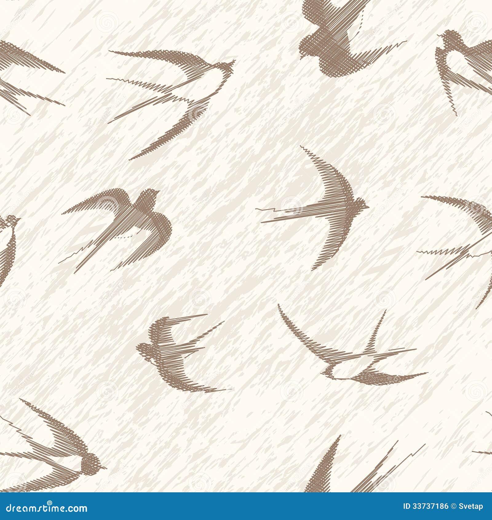 Комплект ласточки птицы.