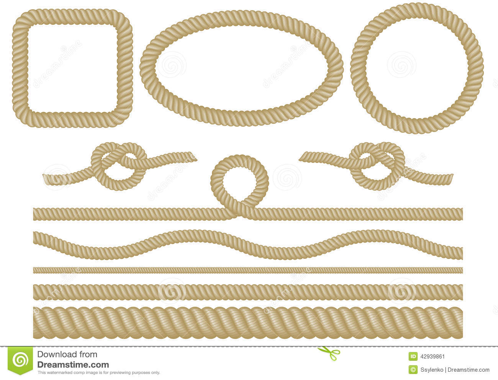 Комплект веревочки