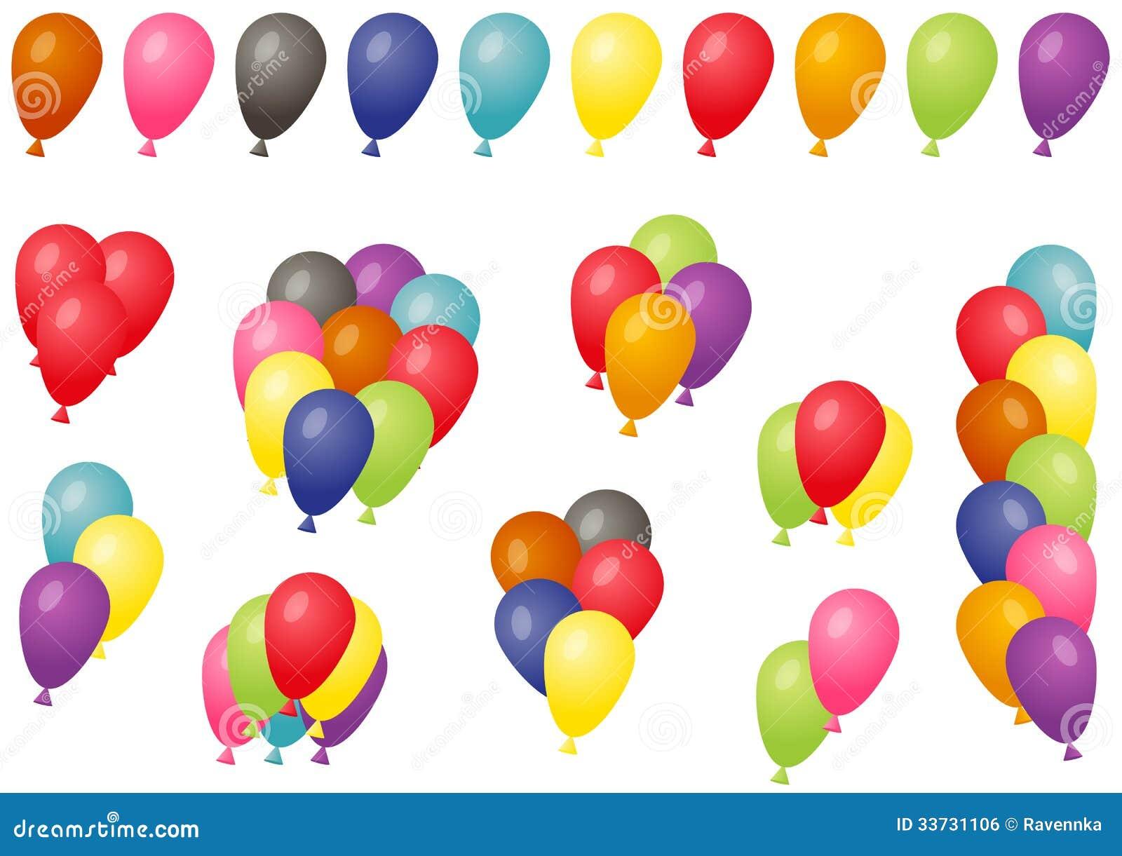 Комплект воздушных шаров