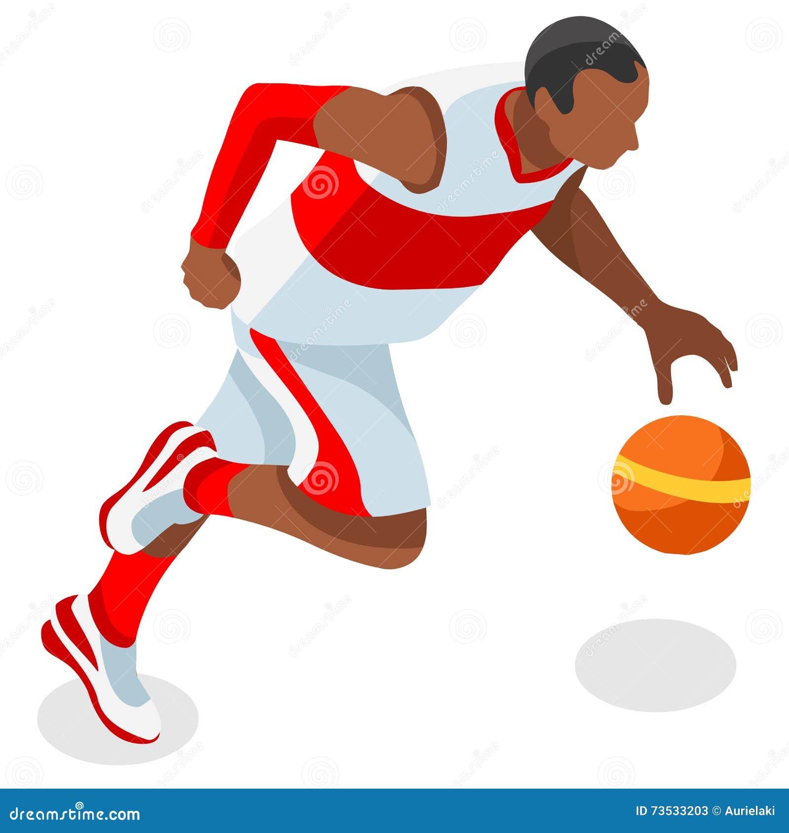 Комплект значка игр лета спортсмена баскетболиста равновеликий черный спортсмен игрока Олимпиад баскетбола 3D Резвиться Соединенн