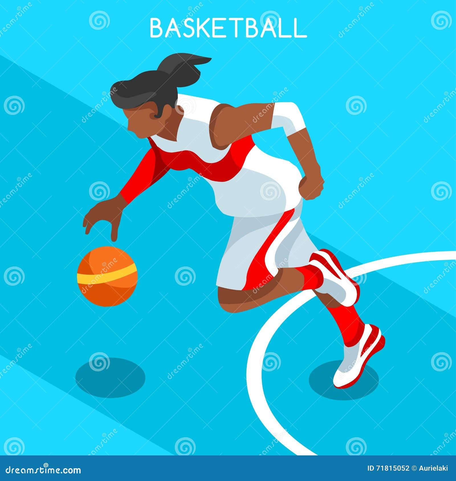 Комплект значка игр лета спортсмена баскетболиста 3D равновеликое