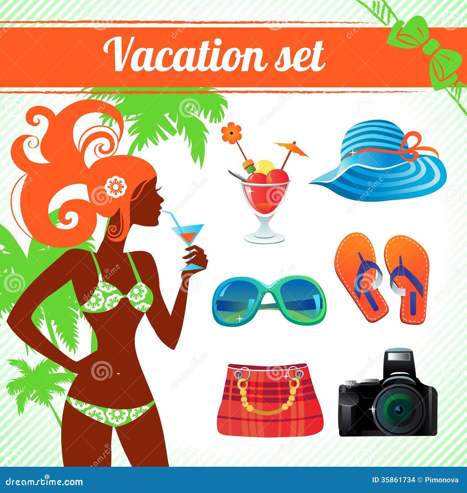 Комплект каникул и значка перемещения
