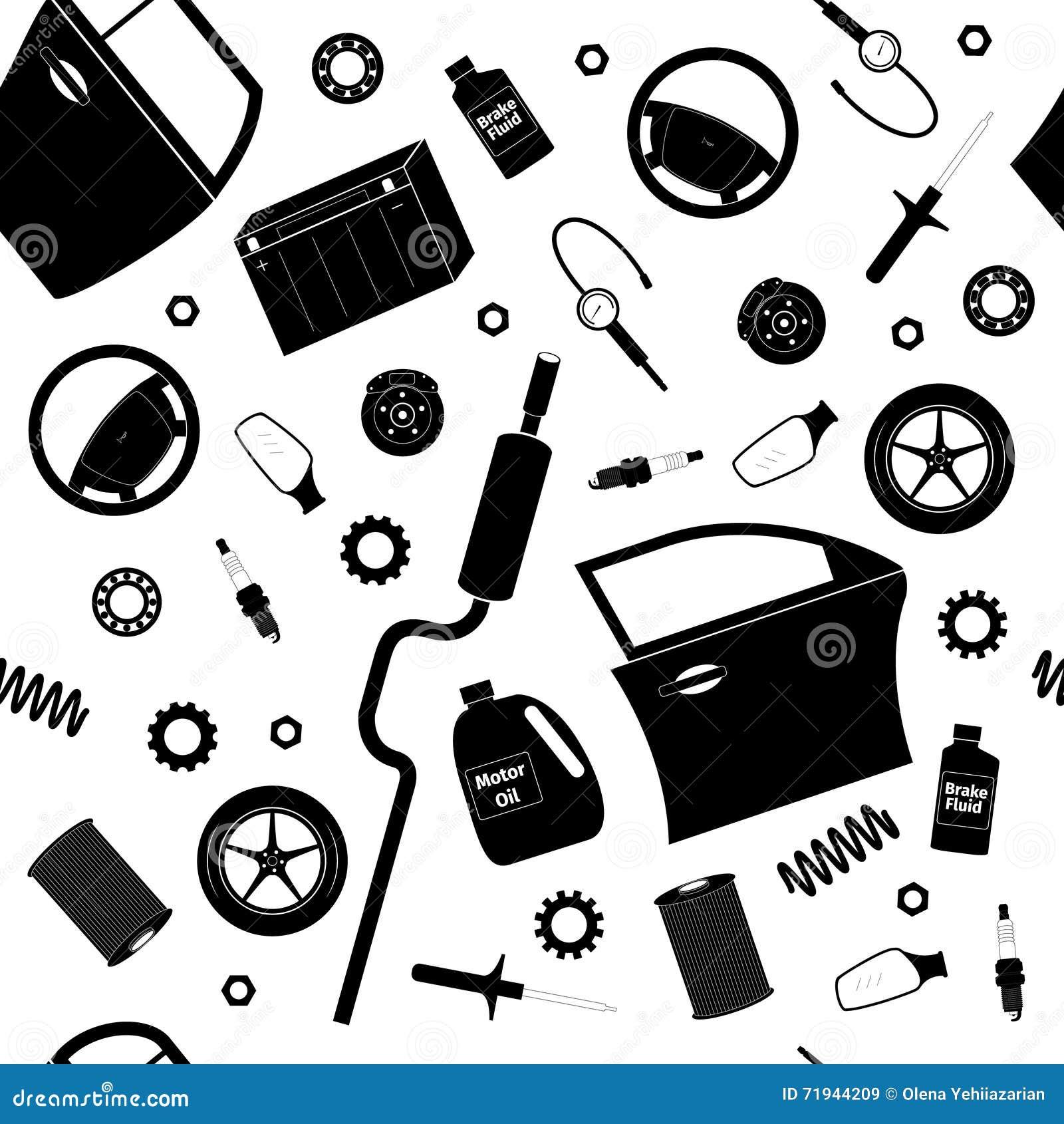 Комплект обслуживания автомобиля