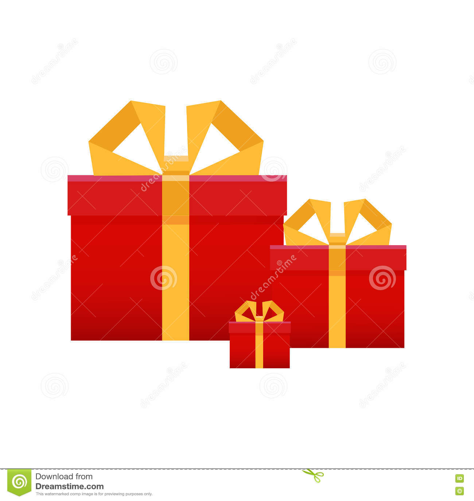Download Комплект подарков, коробка с лентой Deliv поздравлениям концепции Иллюстрация вектора - иллюстрации насчитывающей поставка, курьер: 72290745