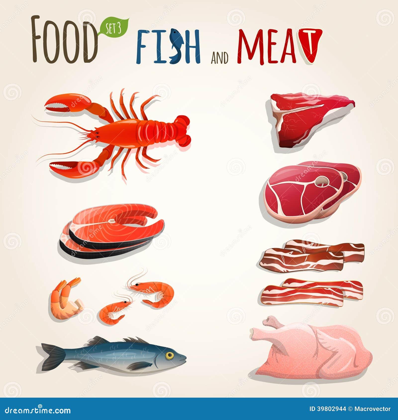 картинки для расспечатки мяса и рыбы вытекают предназначения термобелья