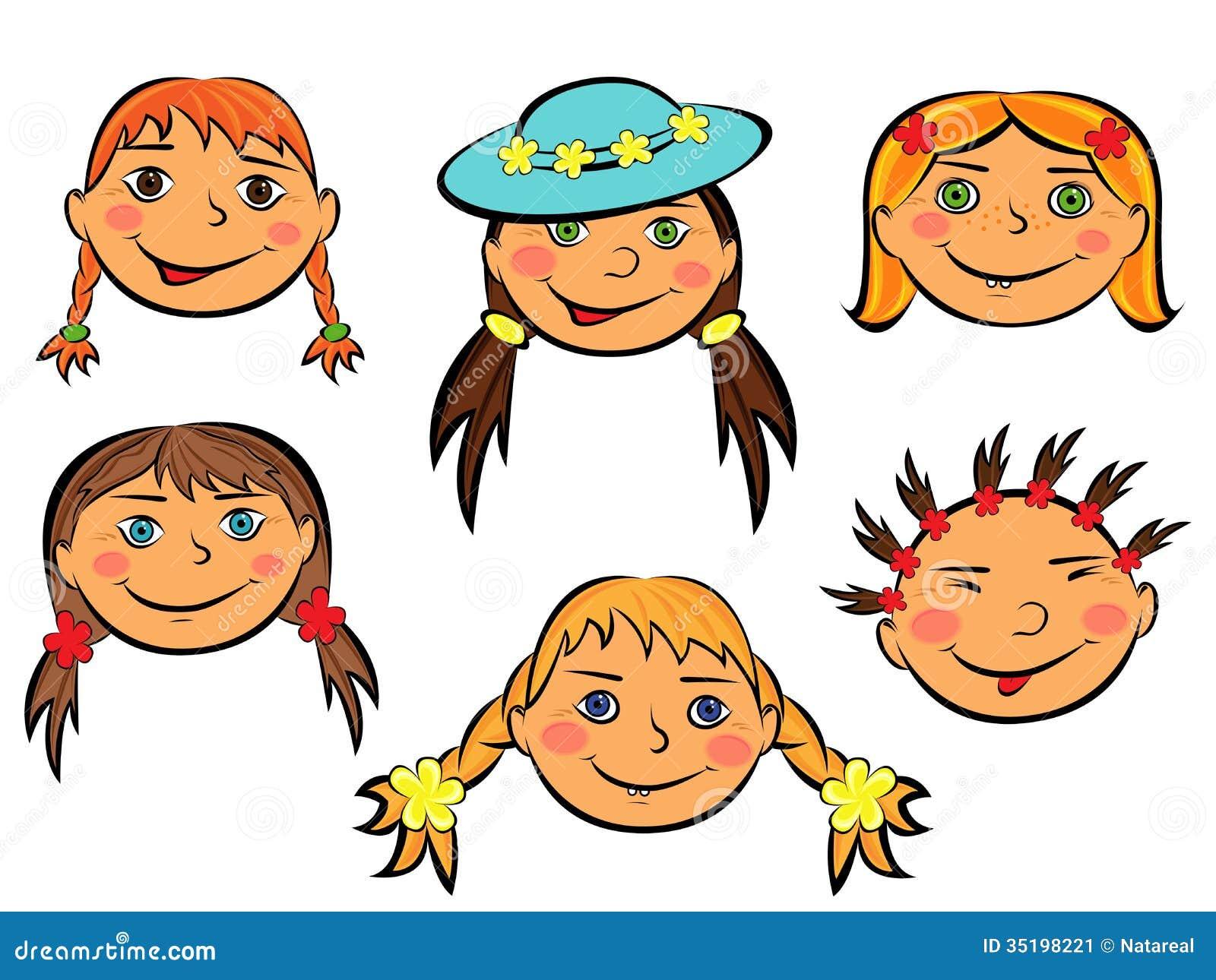 Приколы, смешные рожицы рисунки для девочек