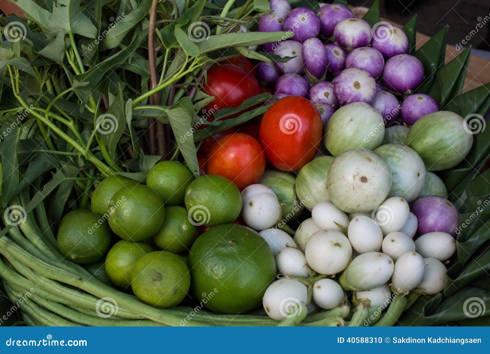 Комплект тайского овоща