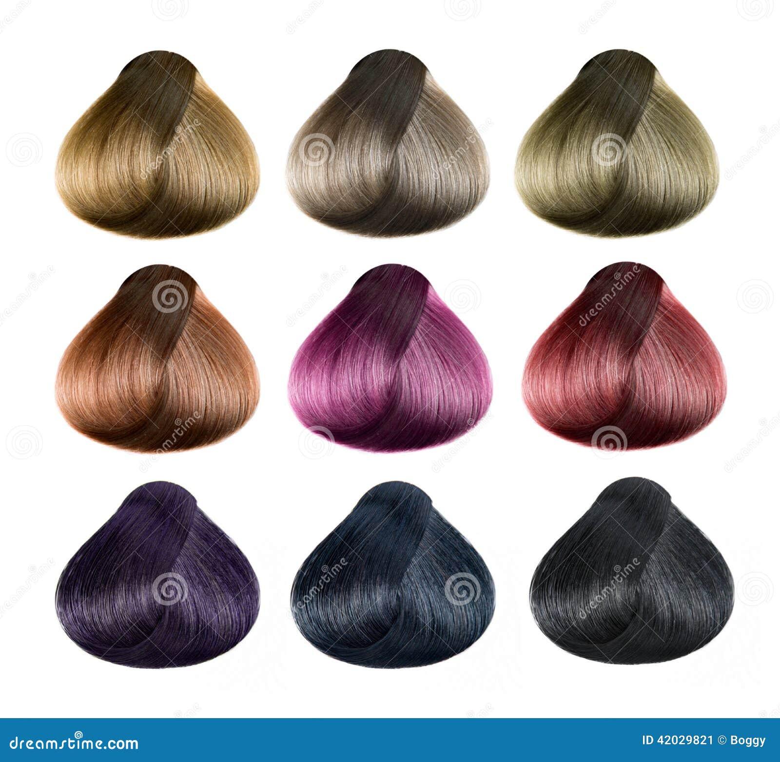 Комплект цвета волос