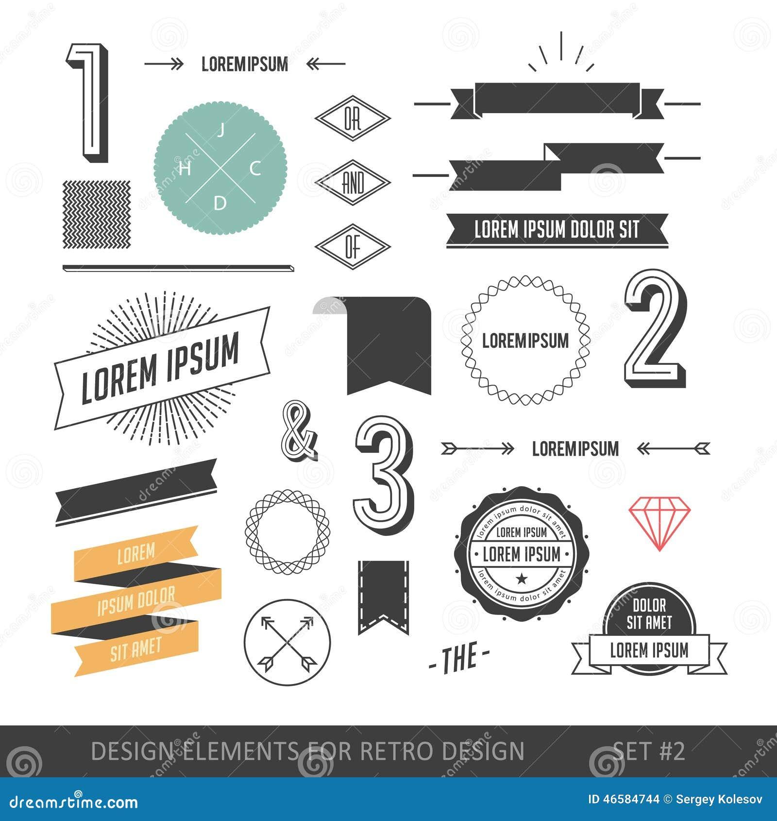 Комплект элементов infographics стиля битника для ретро дизайна С r