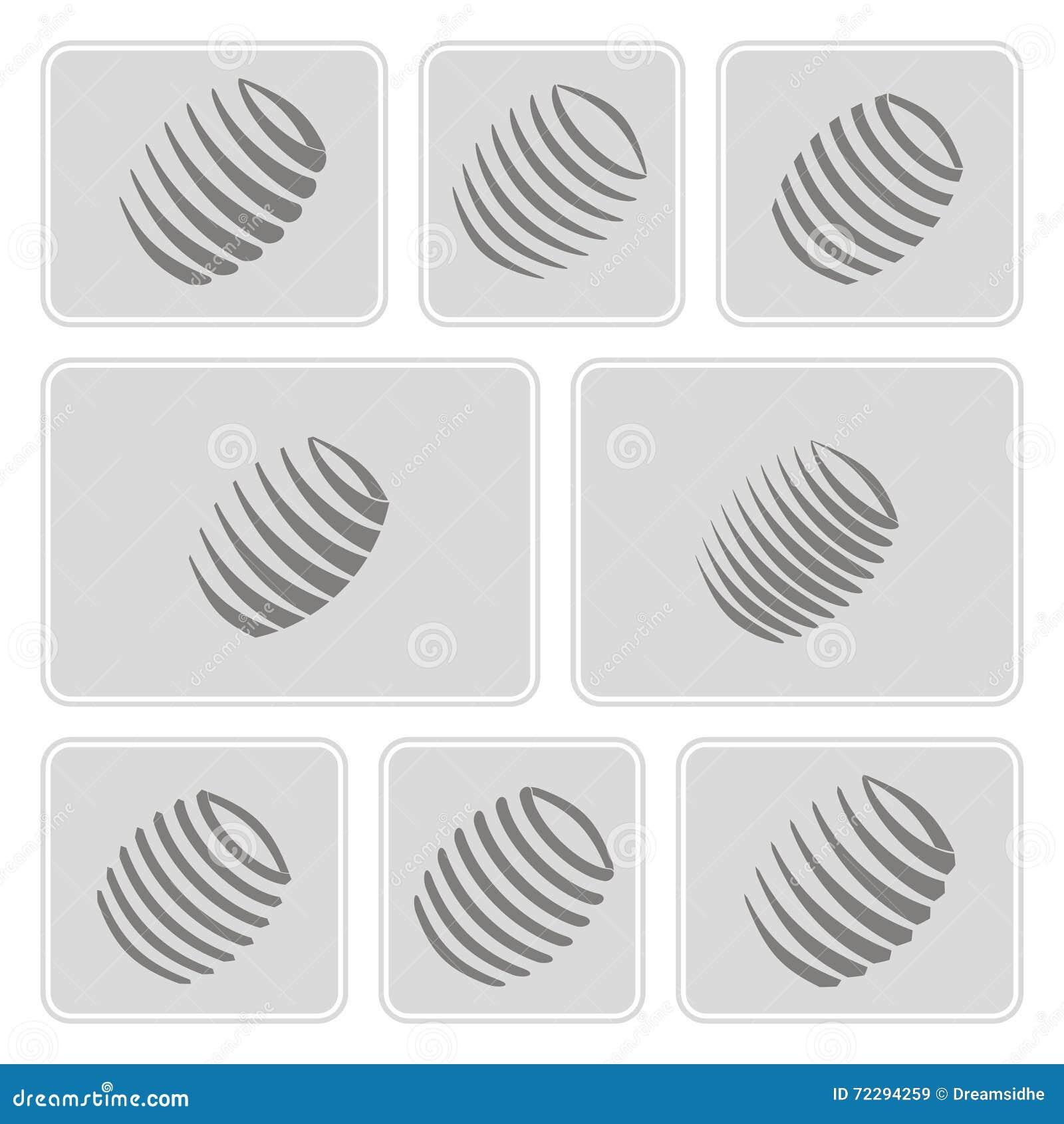 Download Комплект Monochrome значков с веснами Иллюстрация вектора - иллюстрации насчитывающей гибко, мотор: 72294259