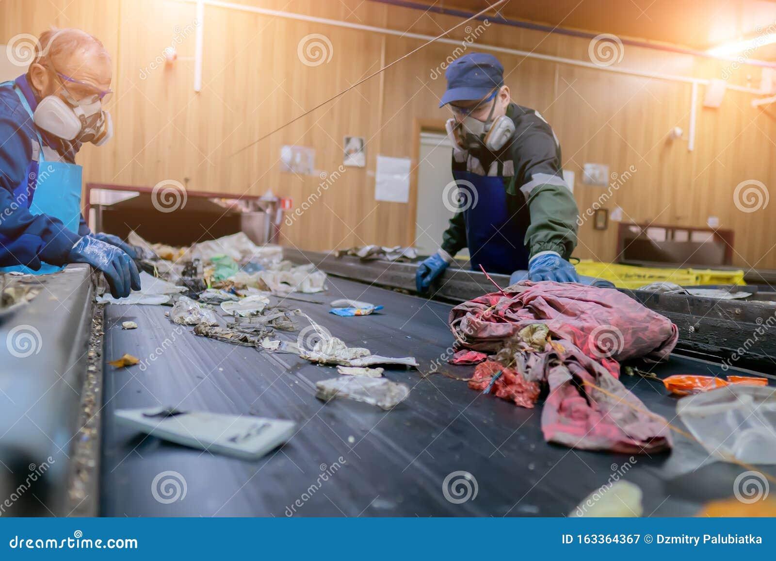 Конвейер сортировки мусора ленинск волгоградская область элеватор