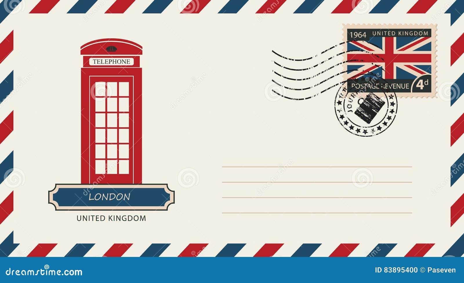 использования почтовая открытка англия межкомнатные