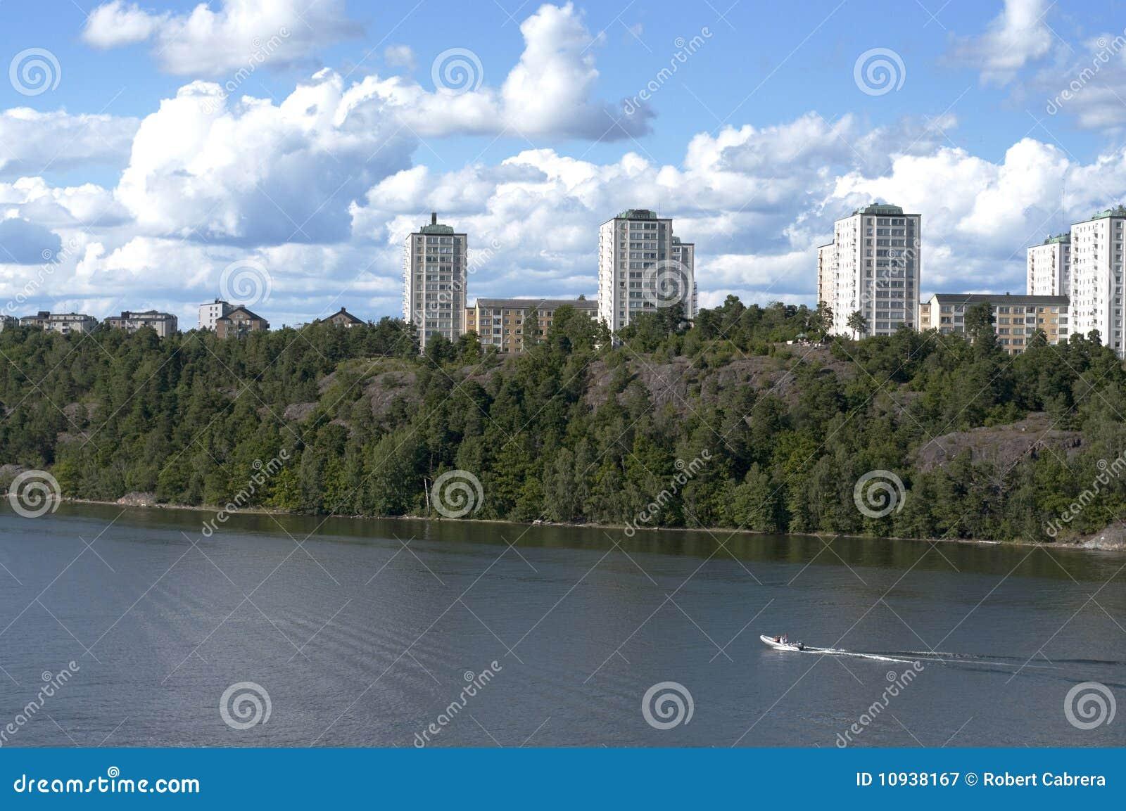 кондоминиумы stockholm береговой линии