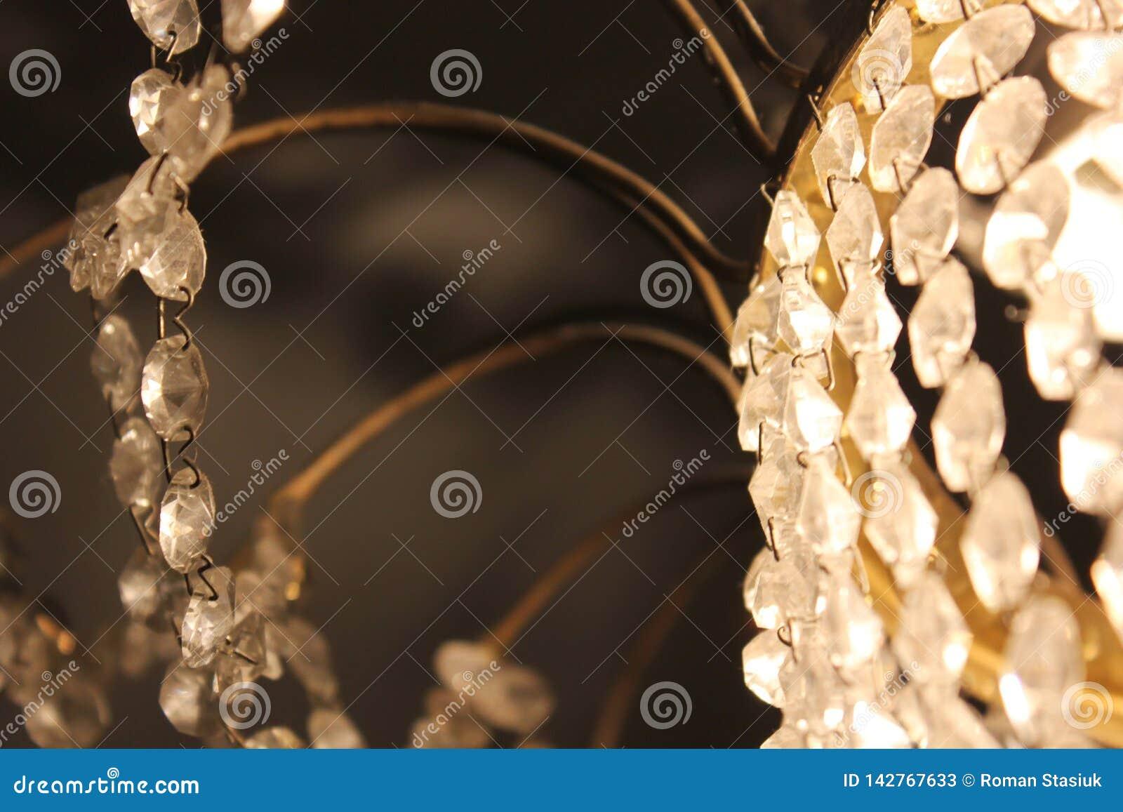 Конец лампы Кристл вверх shine