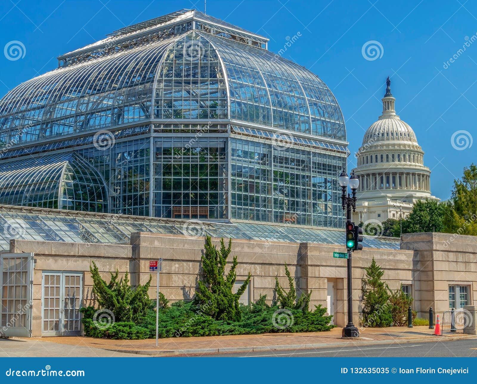 Консерватория ботанического сада Соединенных Штатов, DC Вашингтона