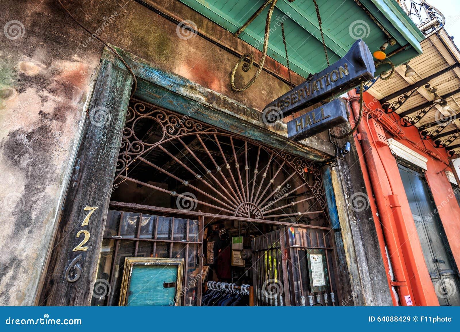 Консервация Hall в Новом Орлеане