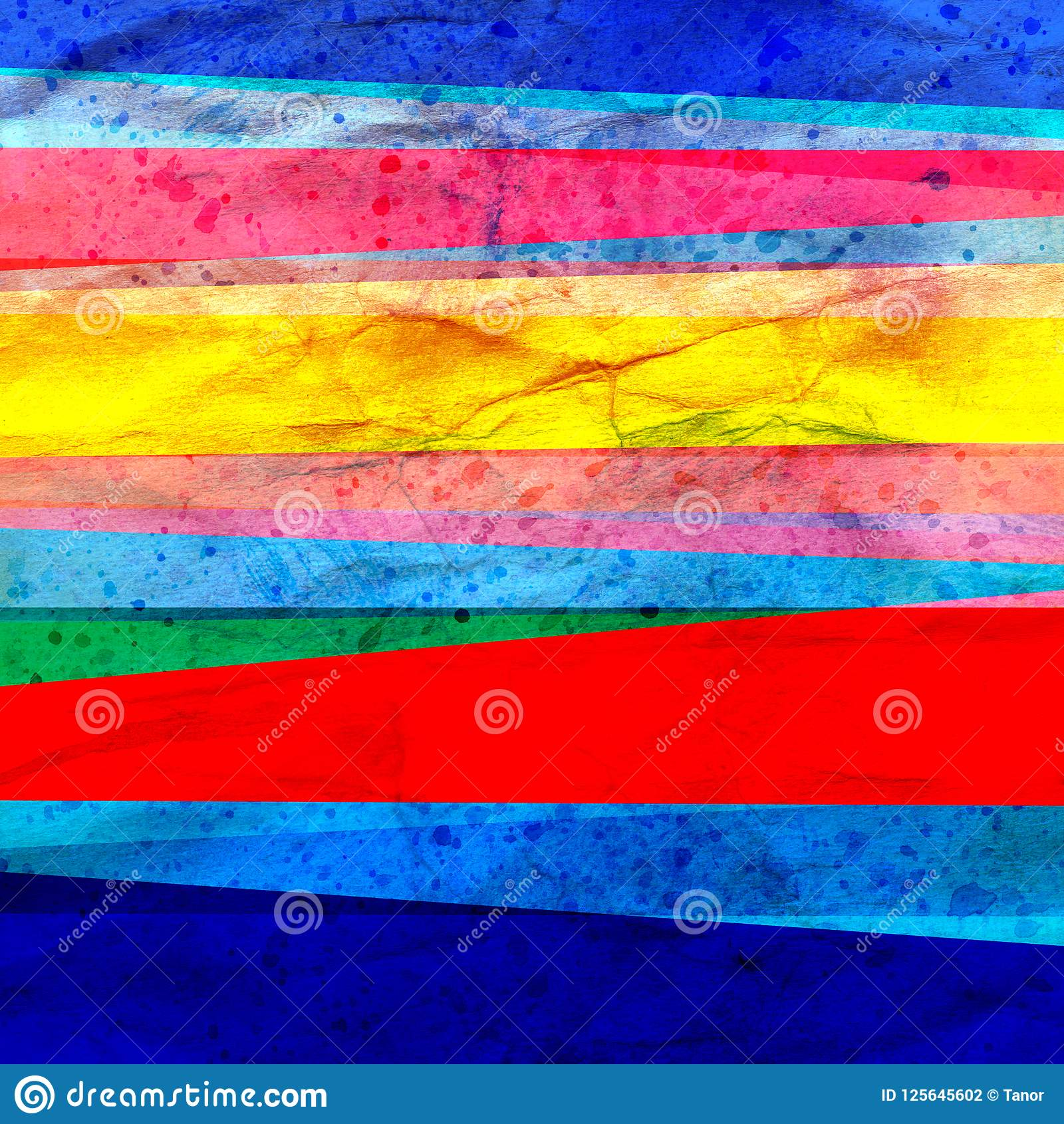 Конспекта цвета искусства акварели нашивки предпосылки ретро геометрические