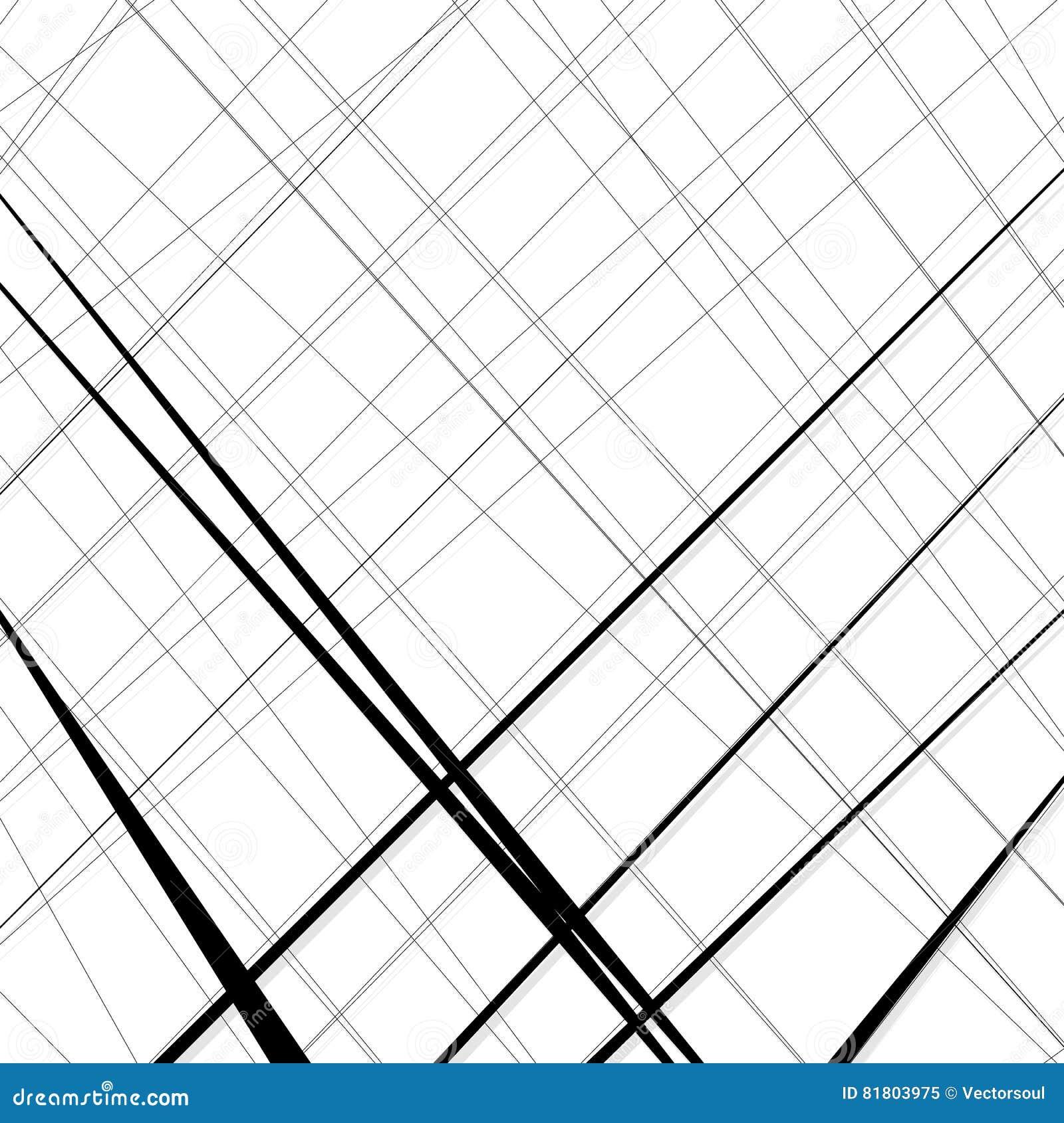 Конспект, линии сложной формы картина, предпосылка Monochrome geomet