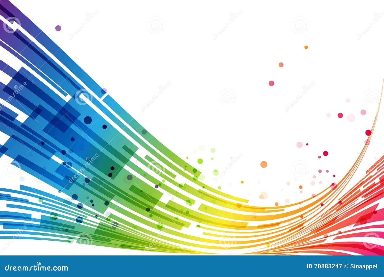 Конспект stripes предпосылка радуги