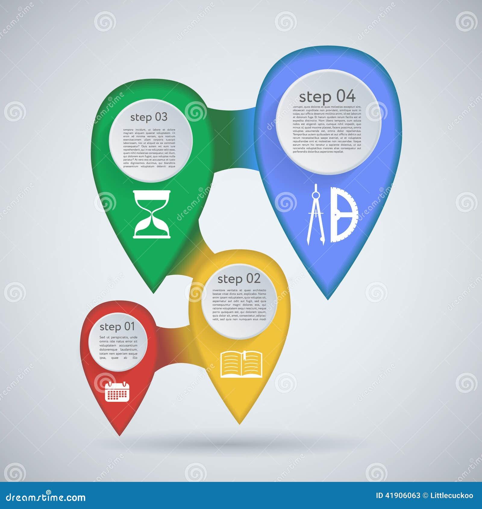 Конструируйте график шаблона знамен номера или план вебсайта