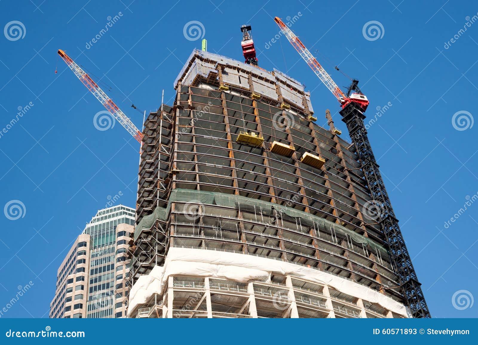 Конструкция башни Wilshire грандиозная в Лос-Анджелесе