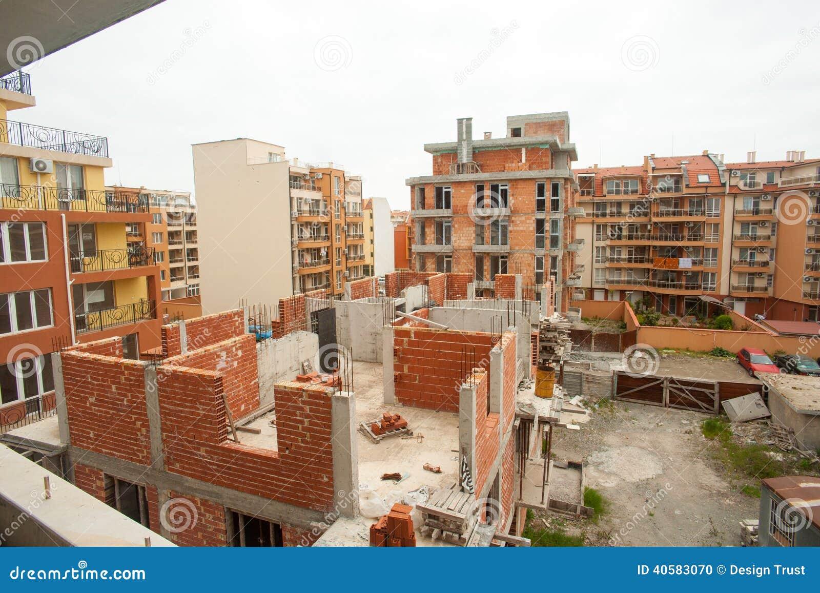 Конструкция жилого дома в Pomorie, Болгарии