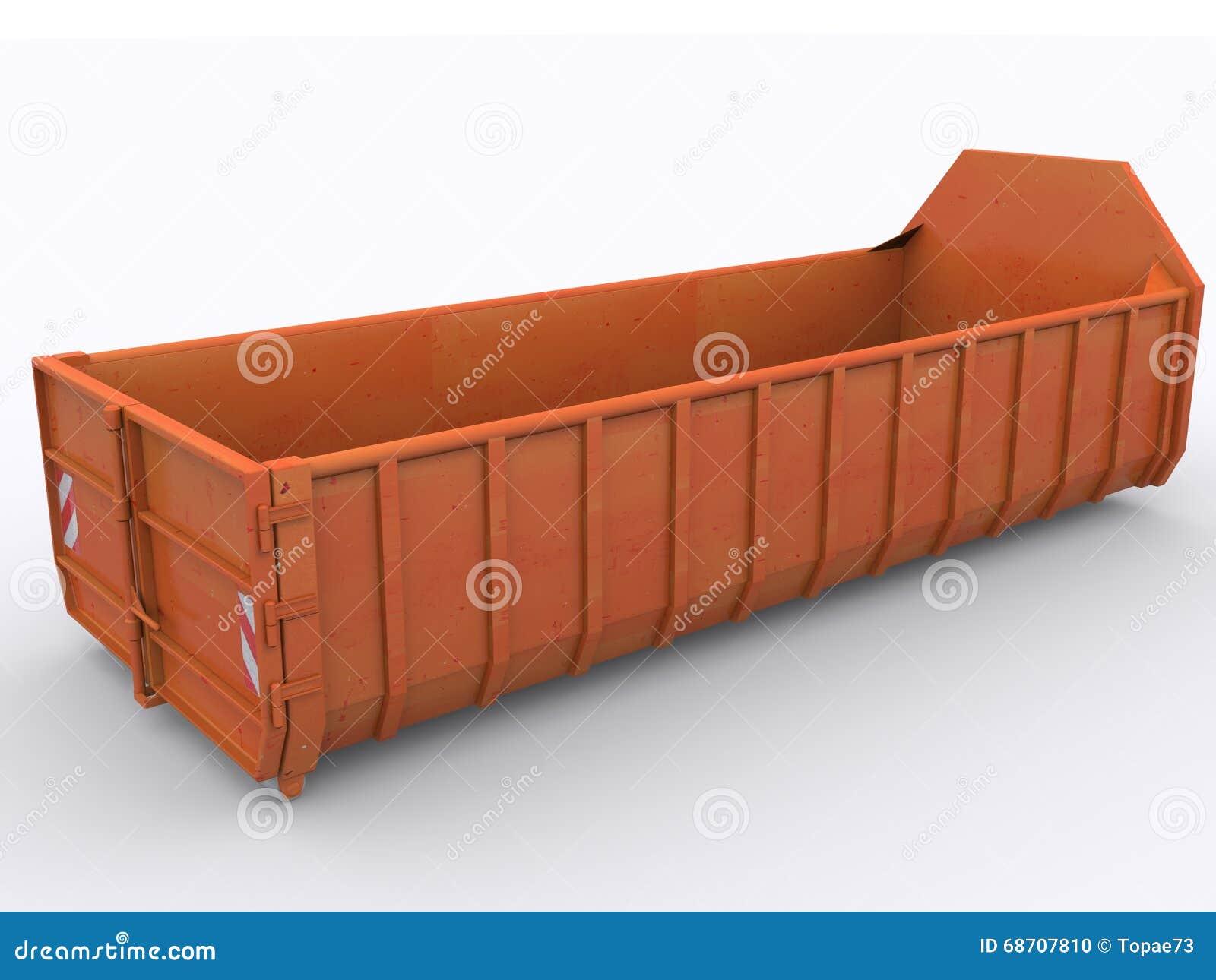 Контейнер мусорного контейнера