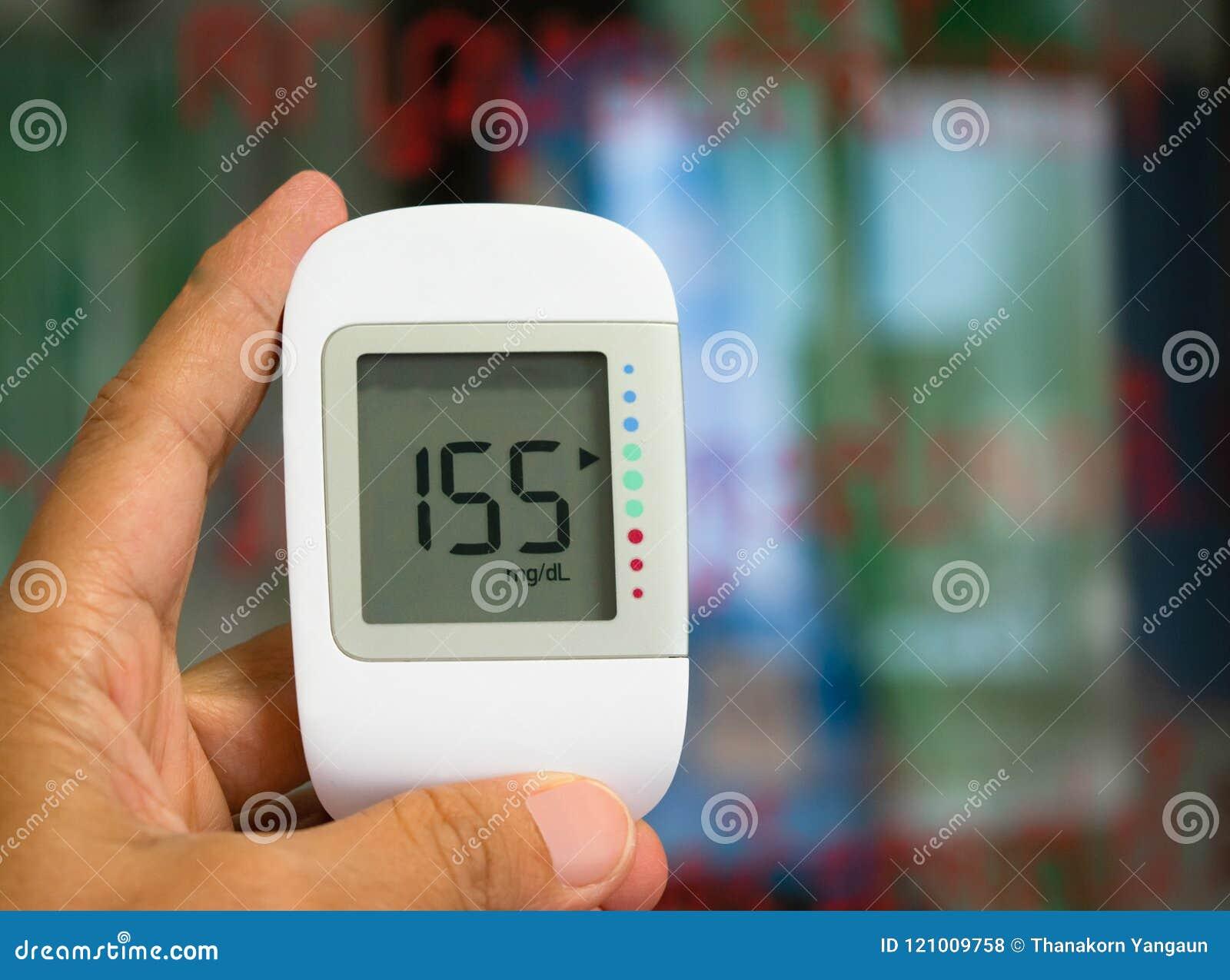 контролируемый кровью метр глюкозы доктора