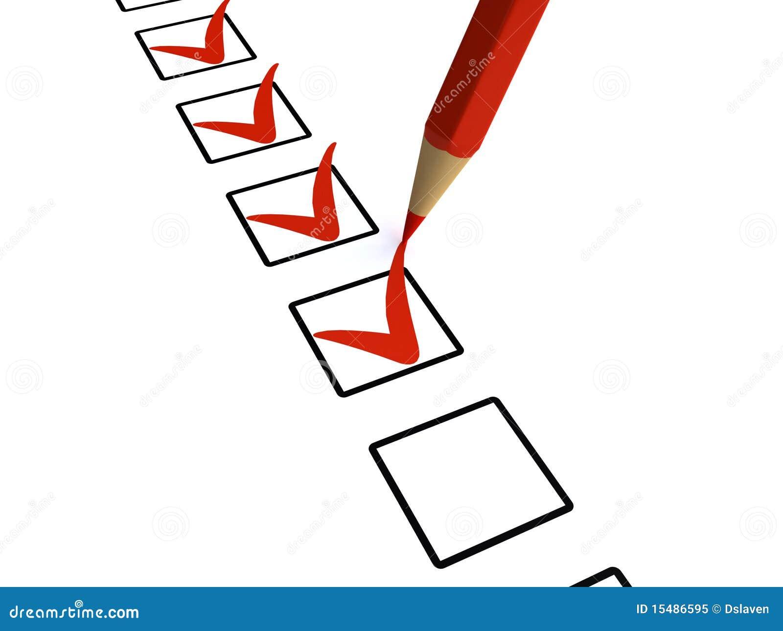 Контрольный список иллюстрация штока иллюстрации насчитывающей  Контрольный список