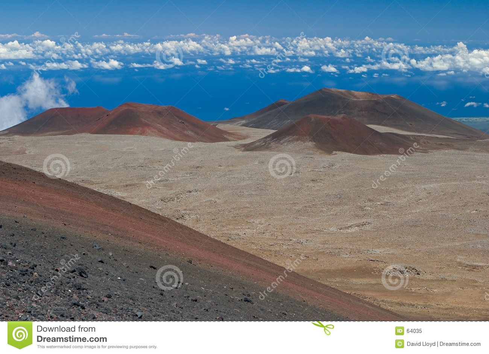 конусы вулканические