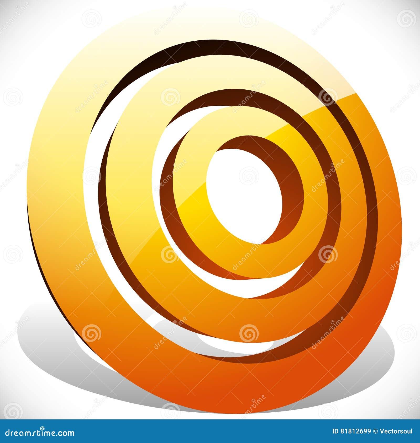 Концентрический, radial объезжает родовой значок, элемент дизайна