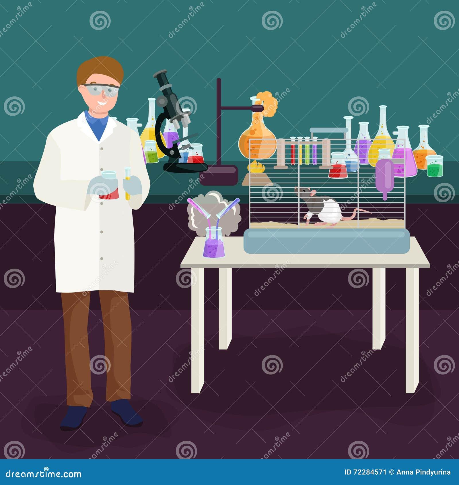 Download Концепция лаборатории ученых при человек делая иллюстрацию вектора исследования Иллюстрация вектора - иллюстрации насчитывающей экспертиза, человек: 72284571