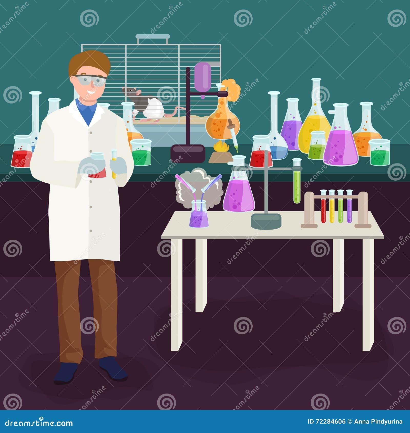 Download Концепция лаборатории ученых при человек делая иллюстрацию вектора исследования Иллюстрация вектора - иллюстрации насчитывающей birder, клиника: 72284606