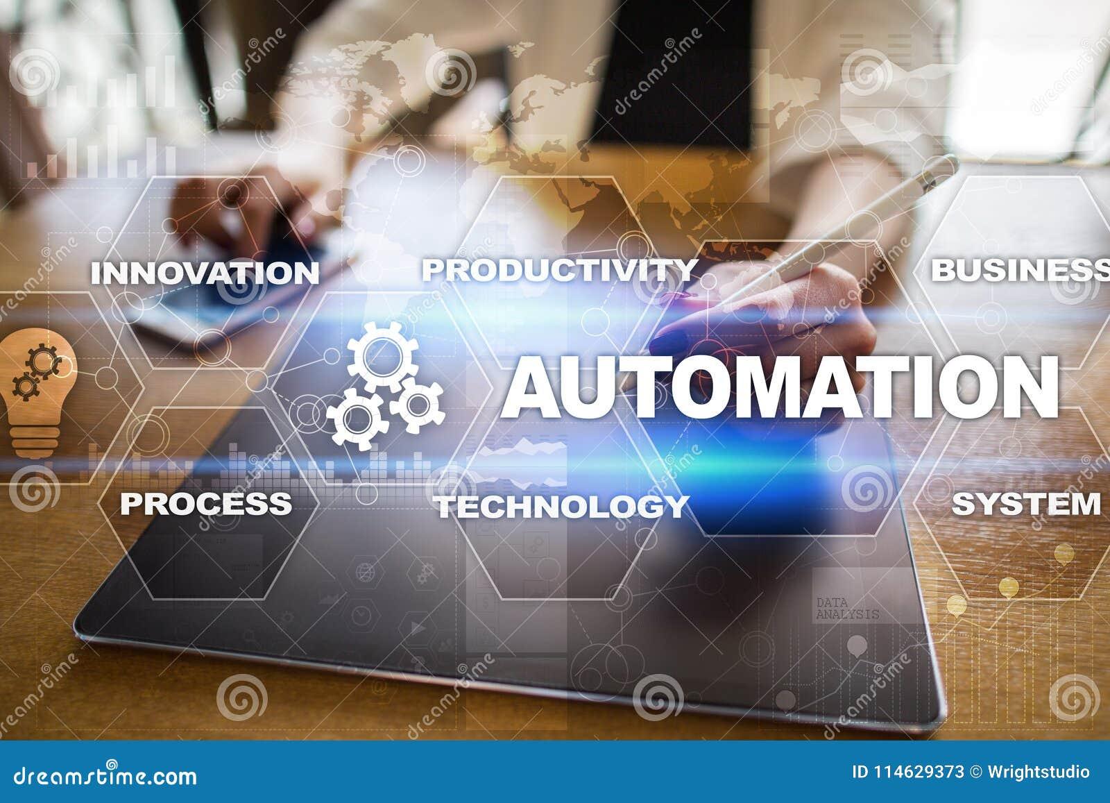 Концепция автоматизации как нововведение, улучшающ урожайность в технологии и бизнес-процессах