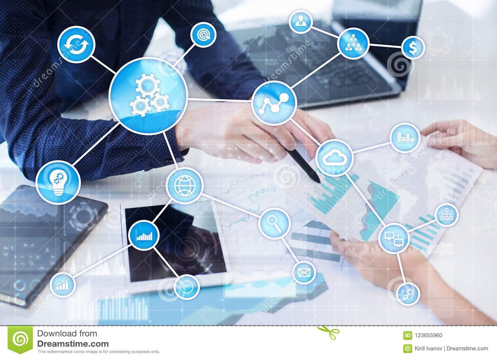 Концепция автоматизации как нововведение, улучшая урожайность, надежность в технологии и бизнес-процессы