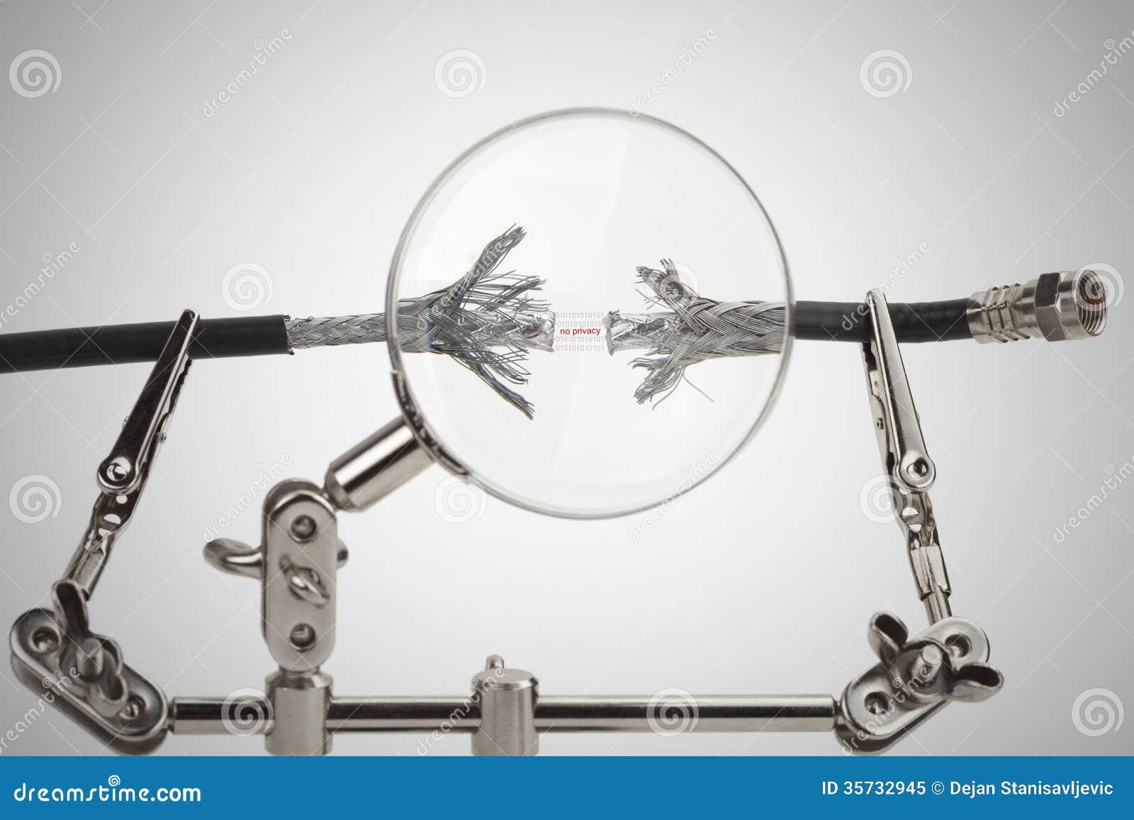Концепция безопасностью интернета, отсутствие уединения