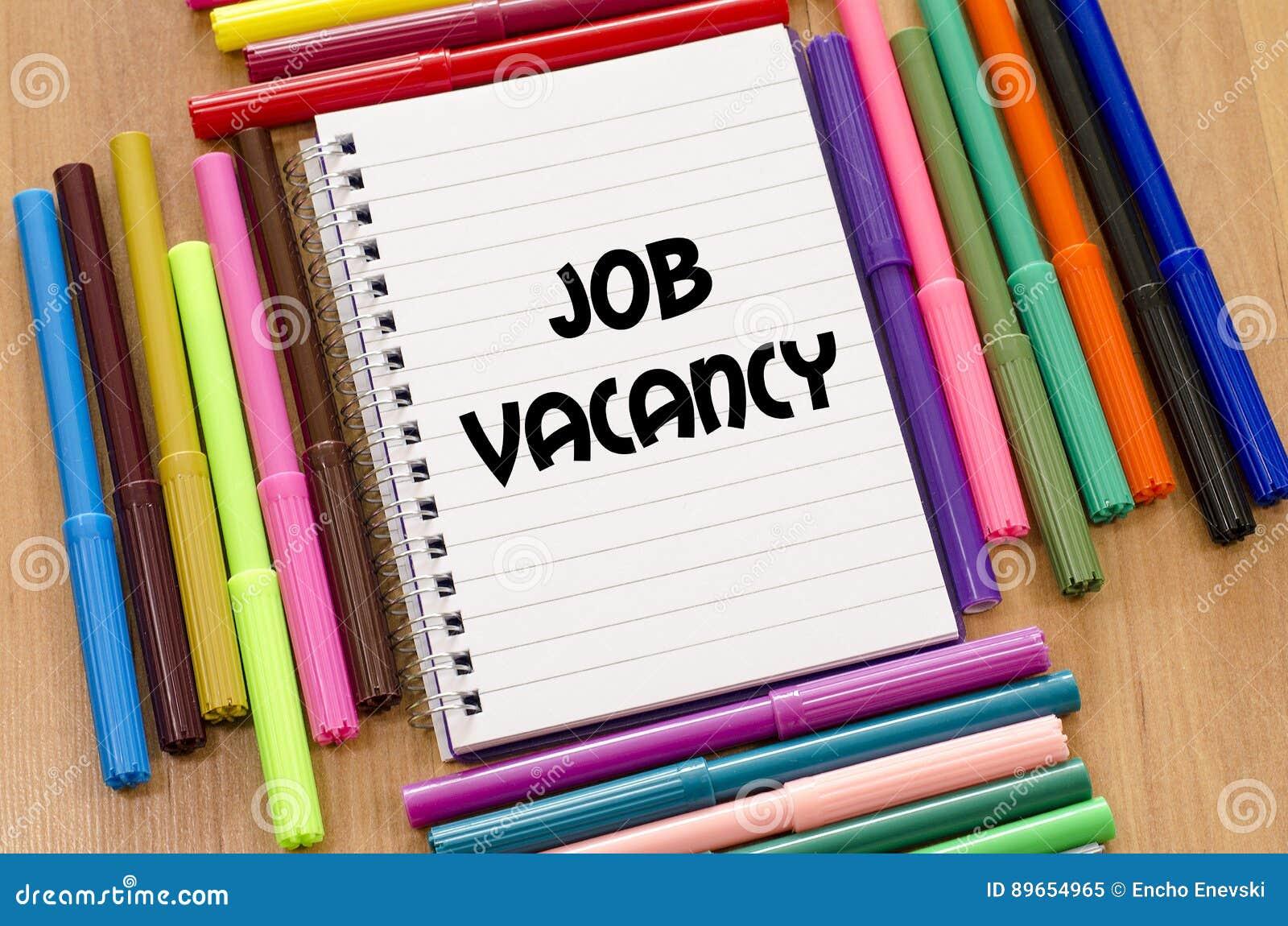 Концепция вакансии