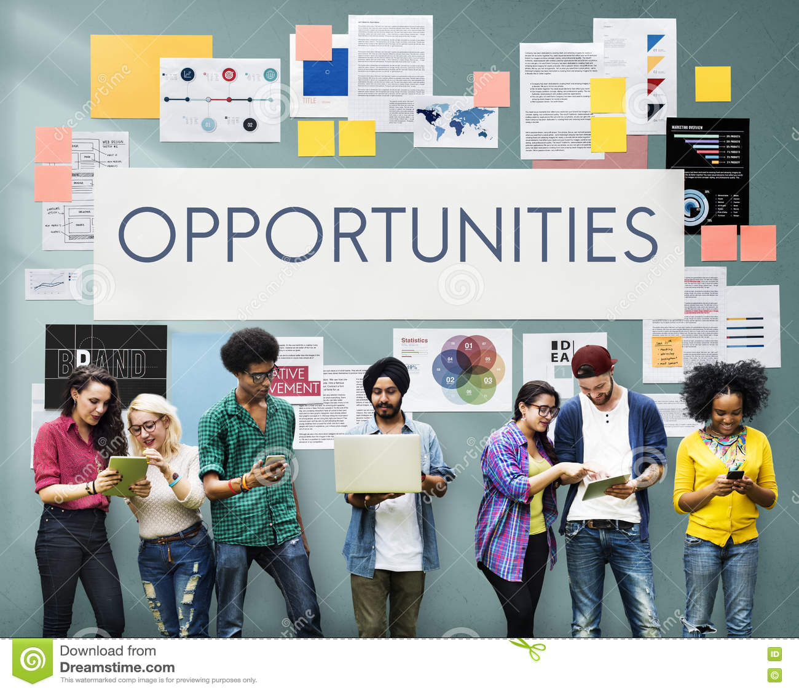 Концепция дела маркетинговой стратегии документа