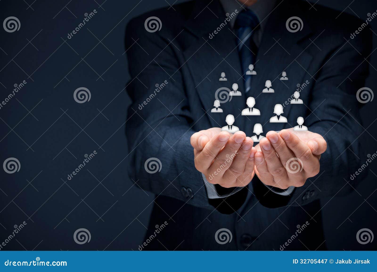 Концепция заботы клиента или работников