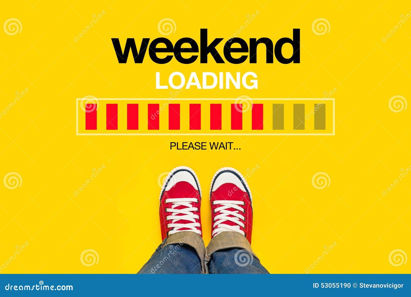 Концепция загрузки выходных